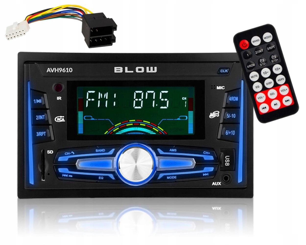 Radio Samochodowe Blow Zestaw Glosnomowiacy Bt Usb 7784117124 Sklep Internetowy Agd Rtv Telefony Laptopy Allegro Pl