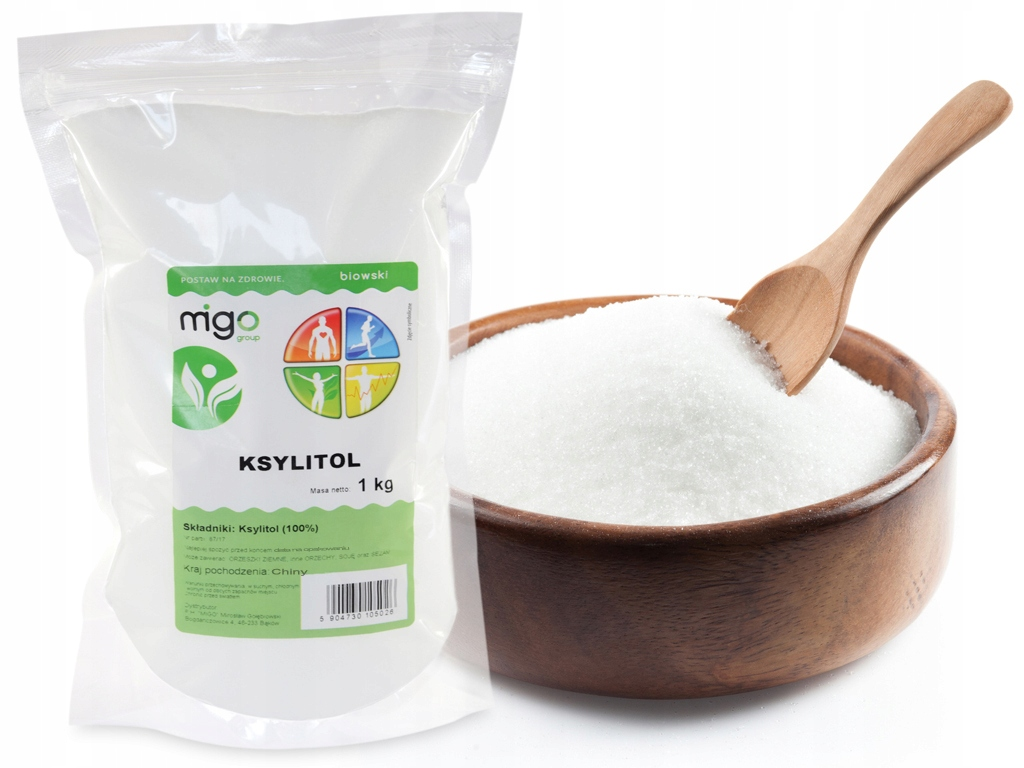 Item XYLITOL xylitol 1kg - called HEALTHY SUGAR