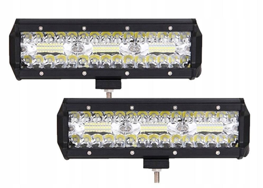 Комплект из 2 галогенных светодиодных рабочих ламп - 180 Вт 10-30 В