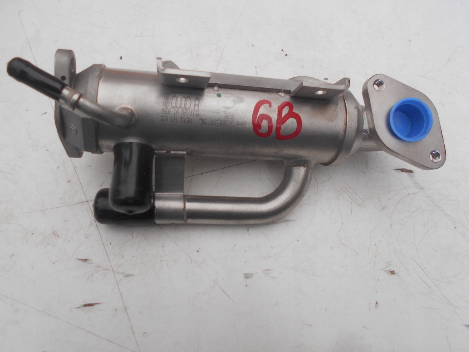 Picture of RADIATOR (COOLER) EXHAUST GAS EGR VW GOLF JETTA 028131513A