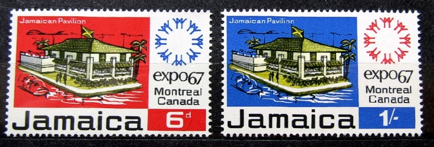 ЯМАЙКА - Mi 261 - 262 ** - 1967 ГОД