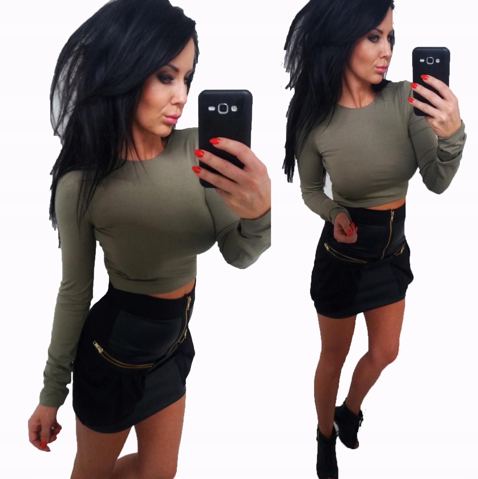 LipMar.... krótka bluzka top Must Have Kolory L 40