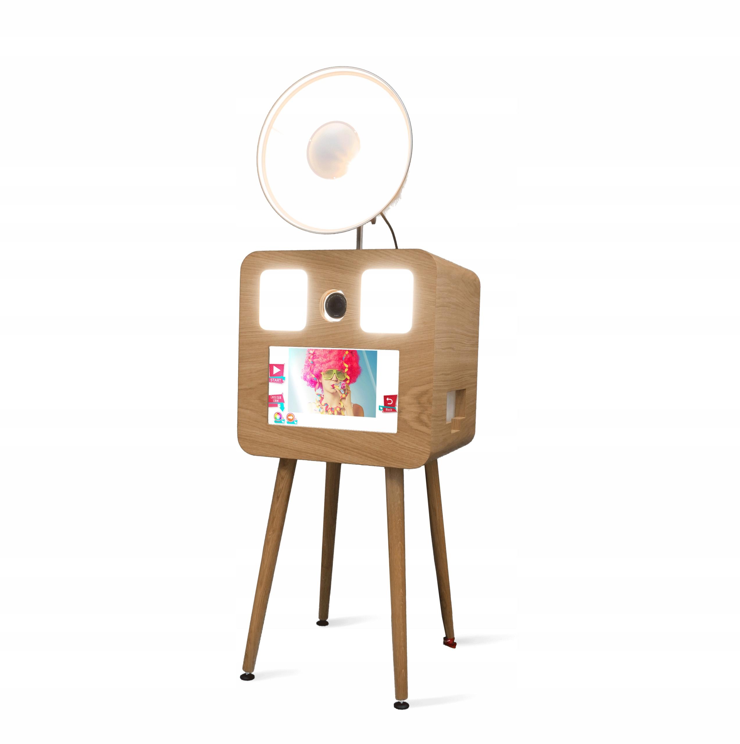 Fotobúdka RETRO - drevená SMOVE FBOX