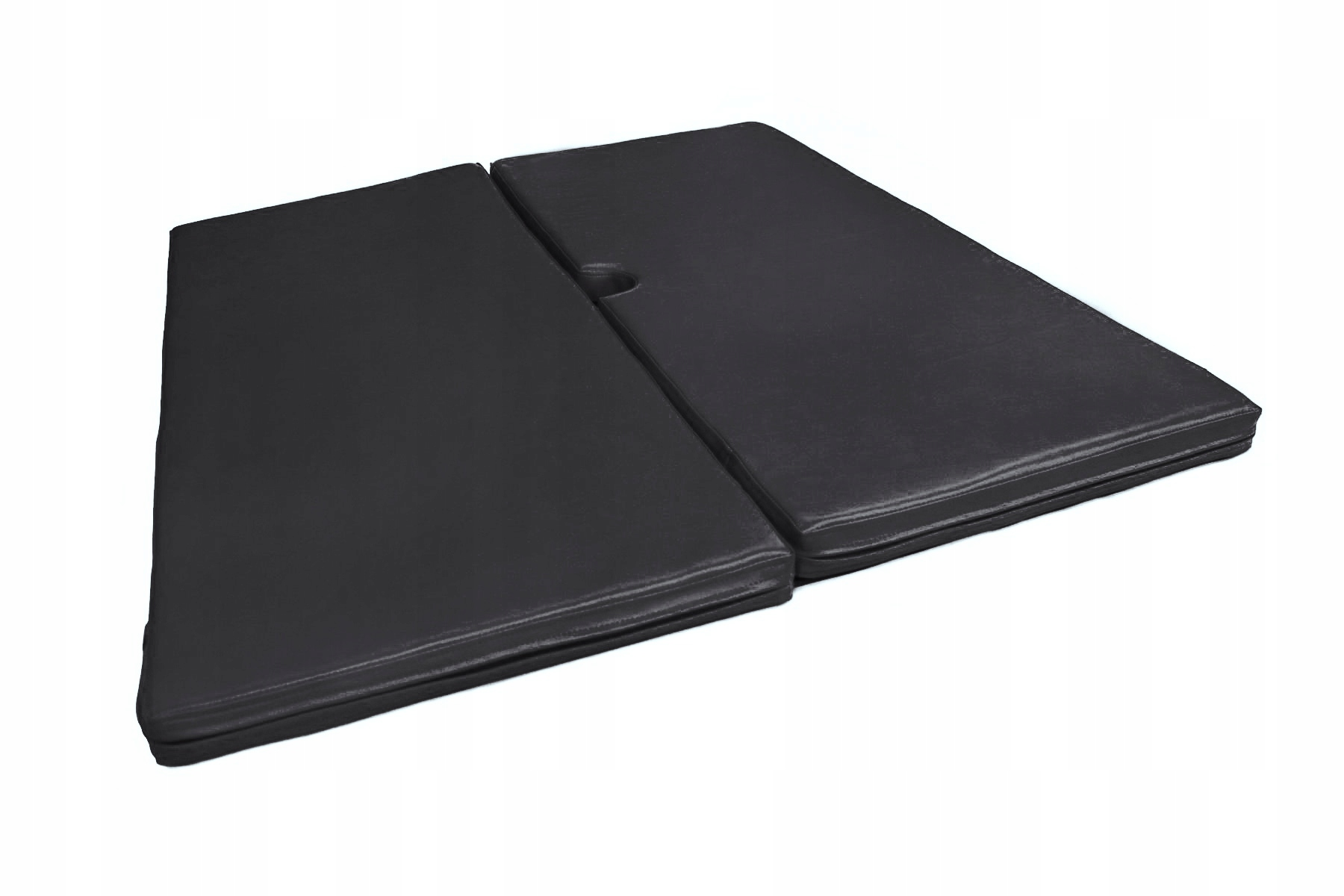 Čierny gymnastický matrac Pole Dance 120 x 100 x 5
