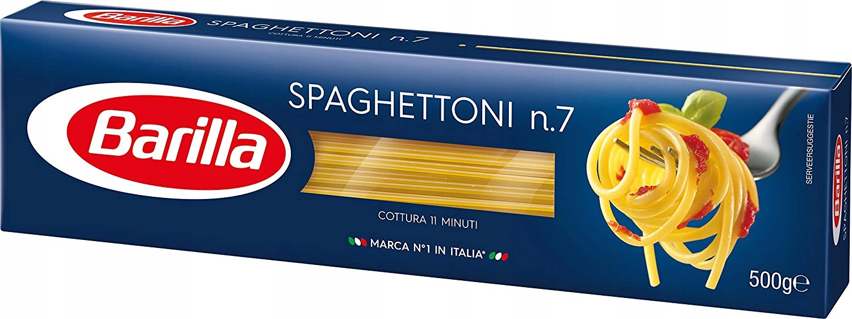 BARILLA Spaghettoni n 7 итальянская паста - 500 гр