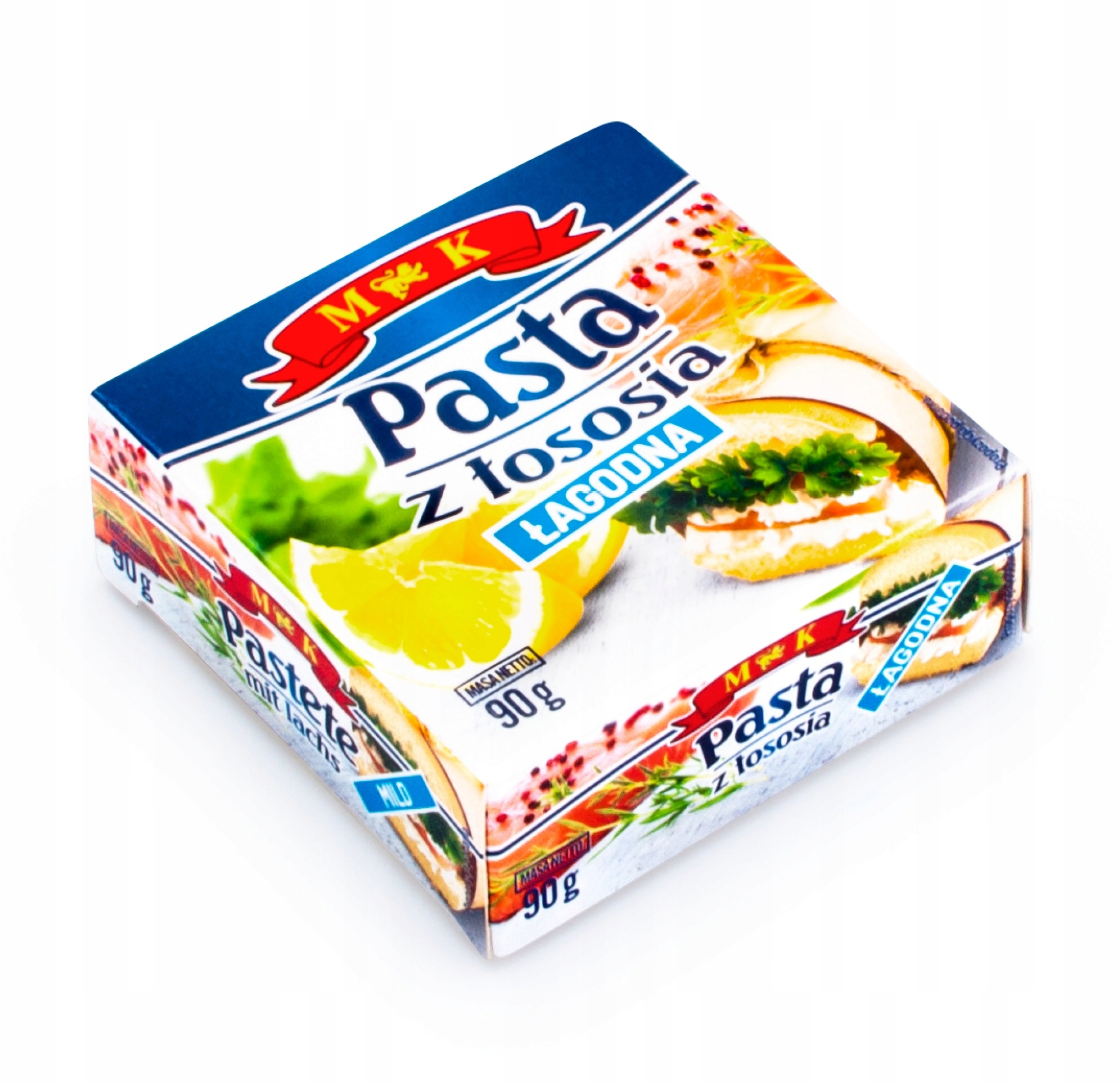 Купить Паста с лососем мягкая 90г. поэтому консервы лосось на Otpravka - цены и фото - доставка из Польши и стран Европы в Украину.