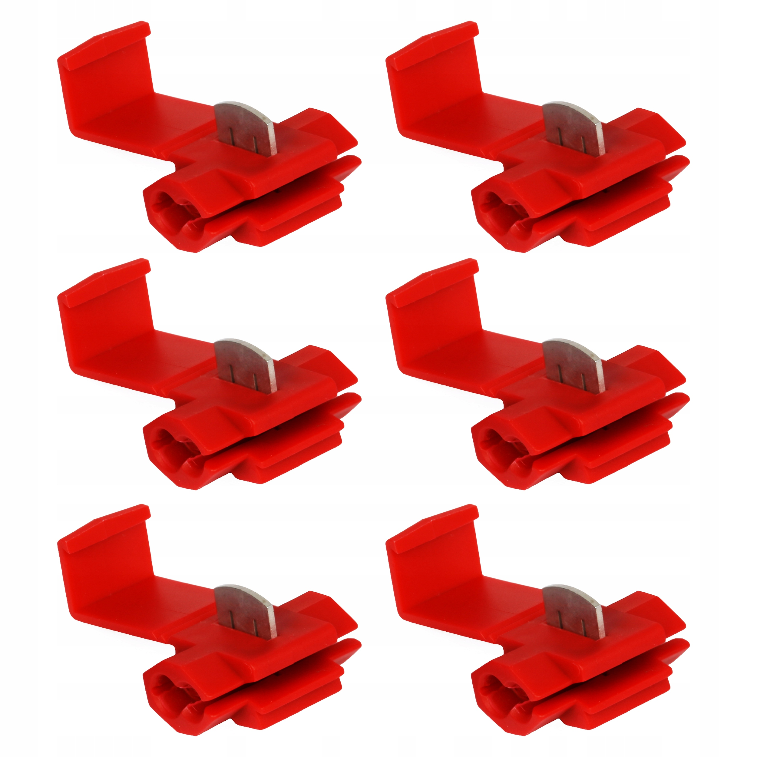 6 шт быстроразъемное соединение разъем разъем кабель 0 5-1 5