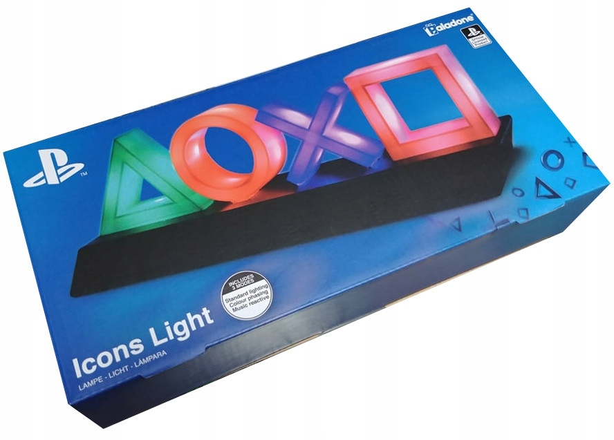Item PLAYSTATION CONTROL ICONS LIGHT / PP4140PS / NEW