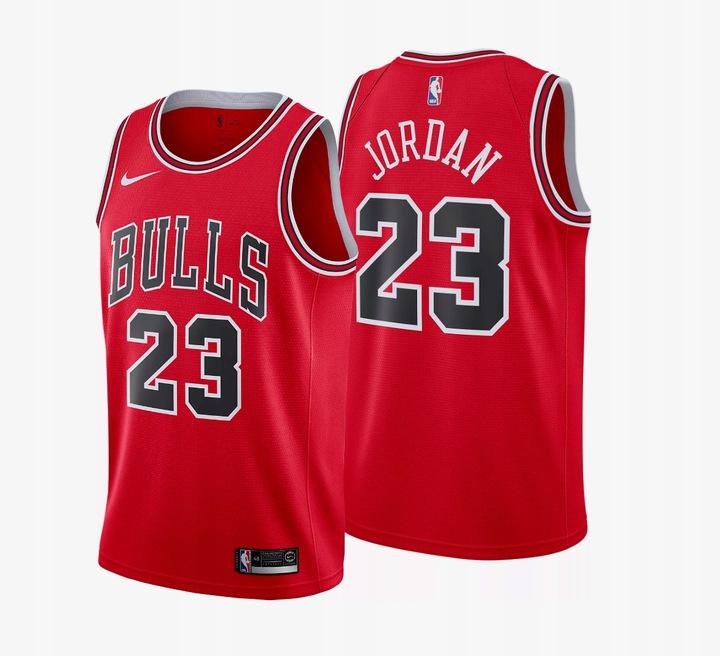 NIKE JORDAN Тенниска 23 NBA CHICAGO BULLS r. S-XXL