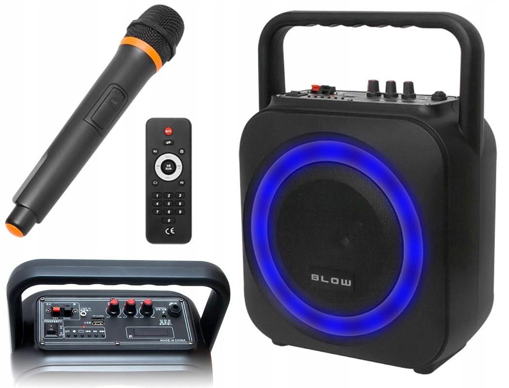 BLUETOOTH REPRODUKTOR RÁDIO FM BOOMBOX USB MP3 KARAOKE