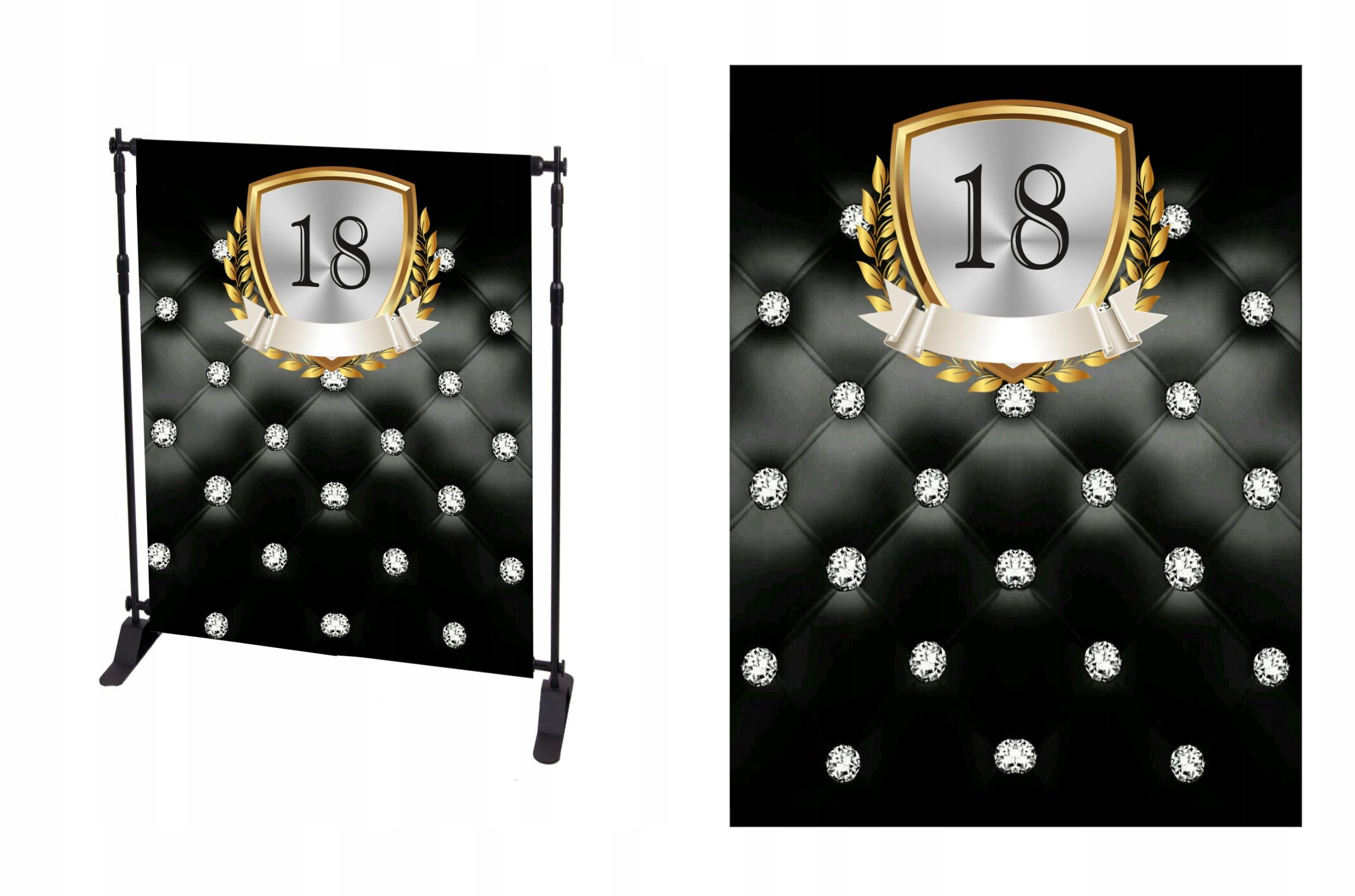 Купить ФОН ФОТО стена для фотографий 18stka день рождения на Otpravka - цены и фото - доставка из Польши и стран Европы в Украину.