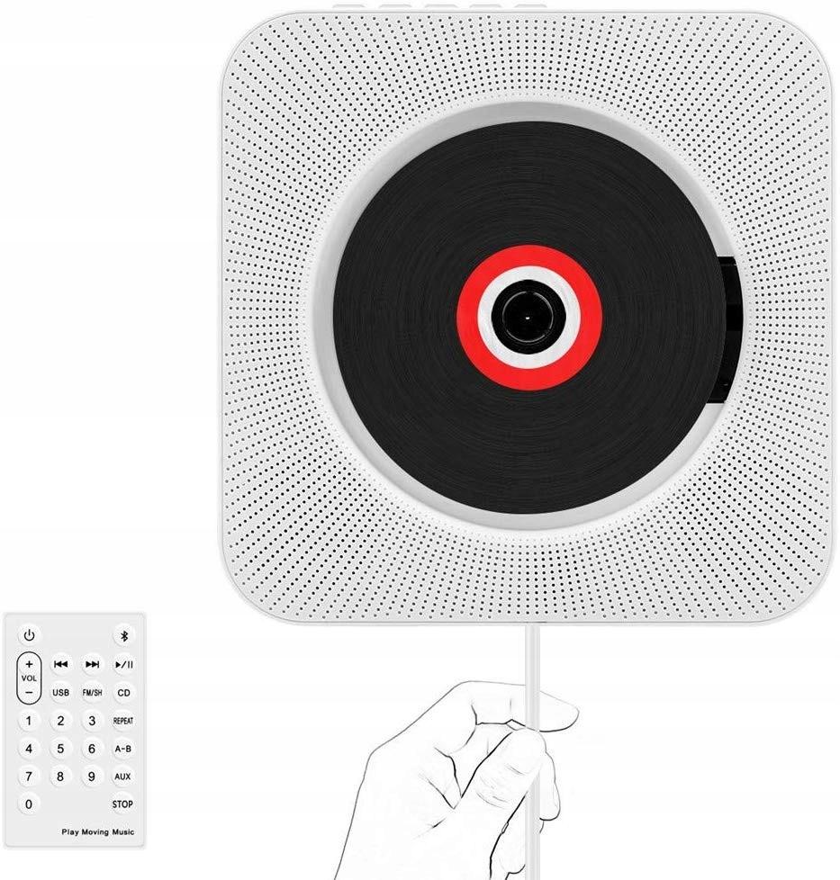 Портативный CD-плеер. Bluetooth-динамик. Радио