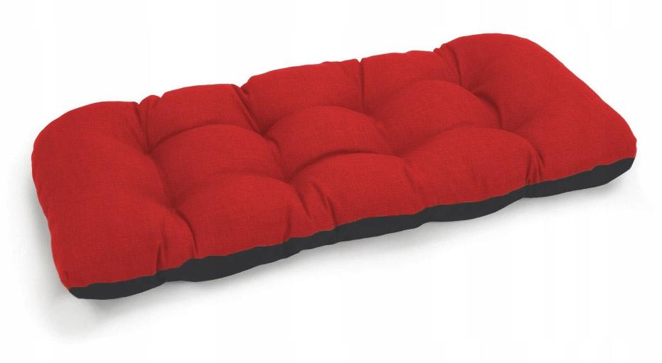 Подушка для садовой качели 100x50 красная