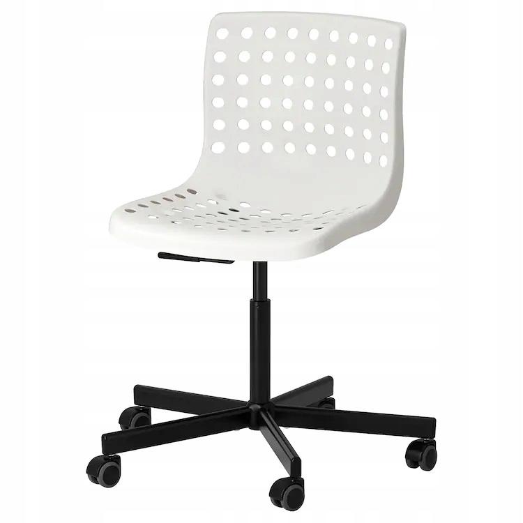 SKALBERG SPORREN stolička biela čierna IKE