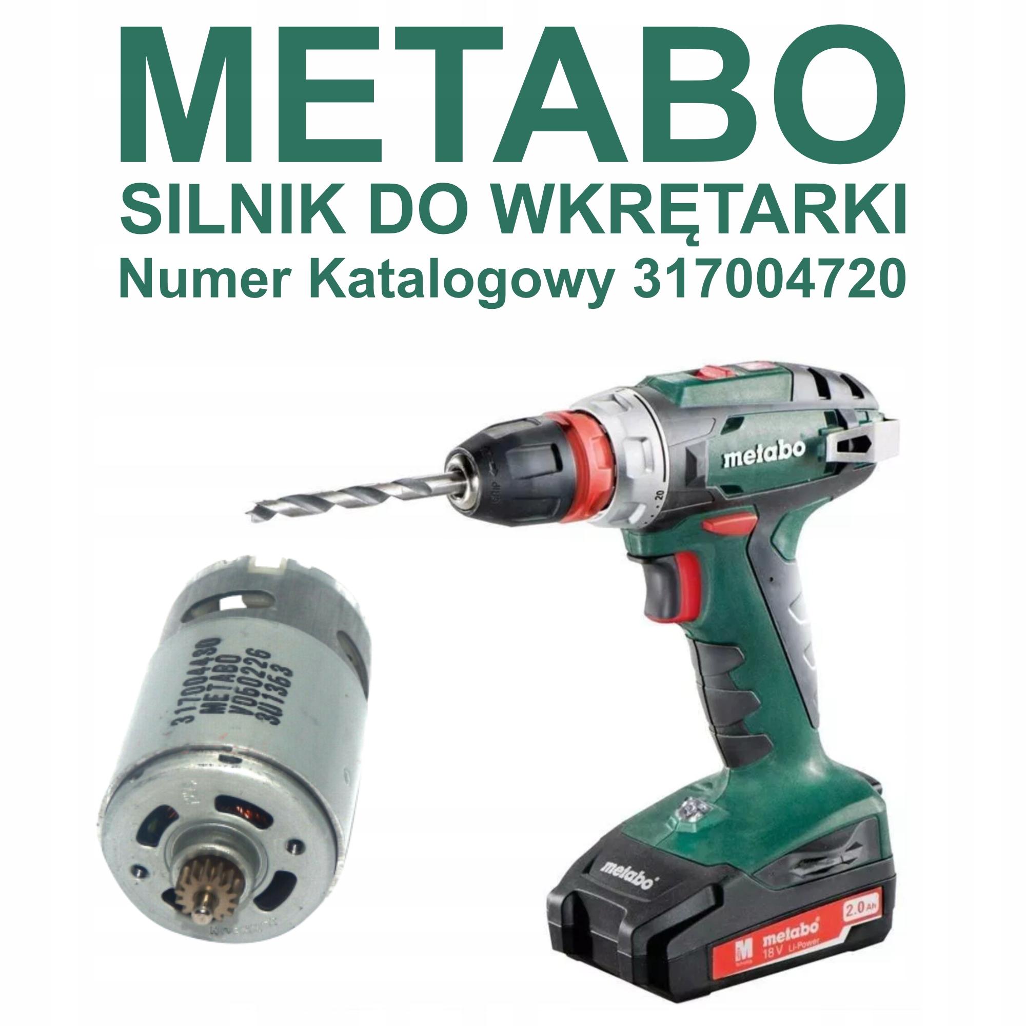 Motor skrutkovača METABO 18V BS 18 SB motor