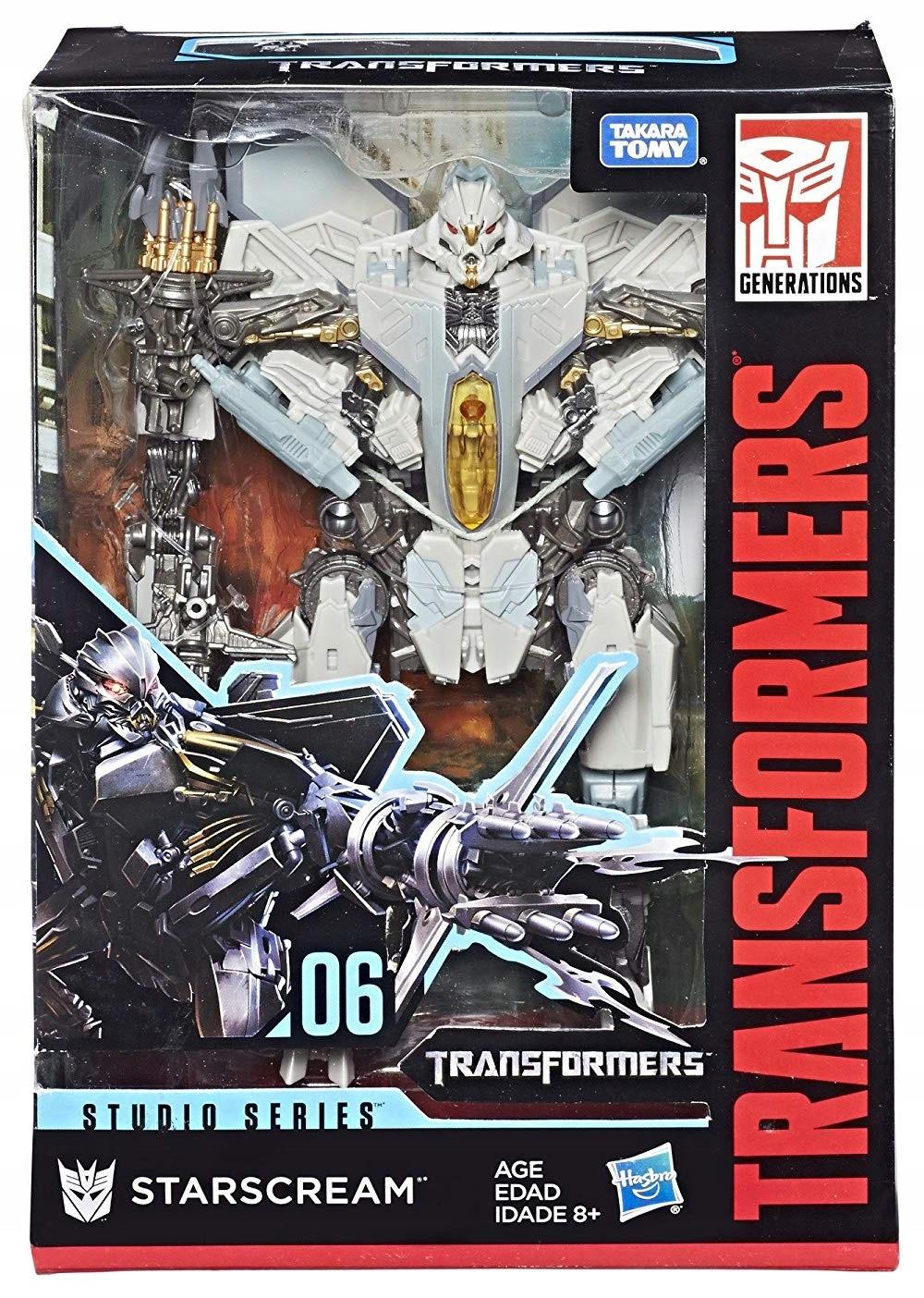 Transformers Studio Figure VOYAGER STARSCREAM 26