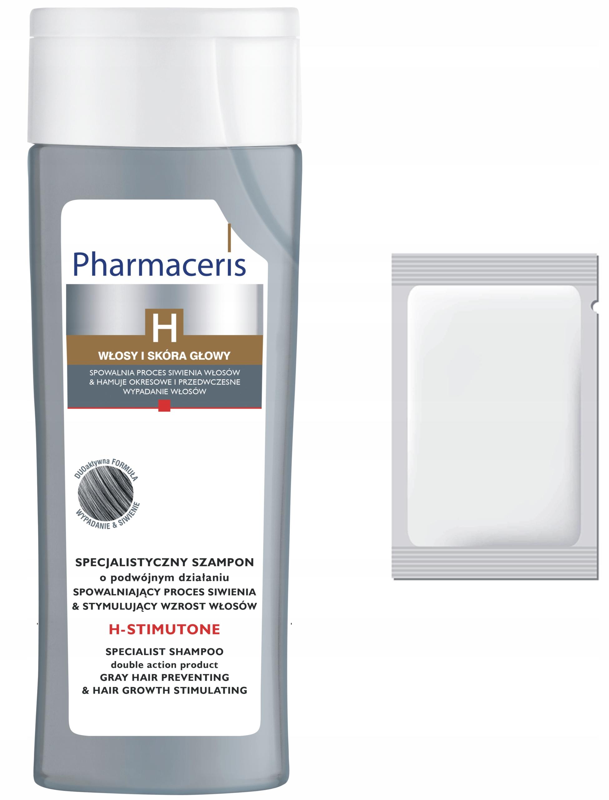 szampon przeciw wypadaniu włosów i siwieniu