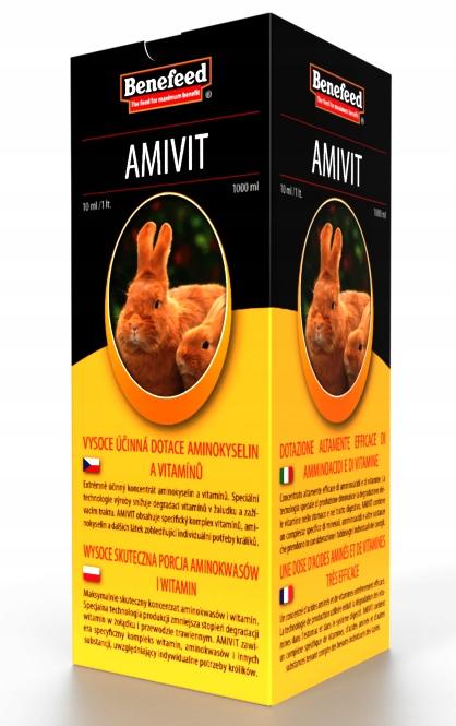 Acidomid, Amivit, Optimin, Rabitin zajacov, králikov