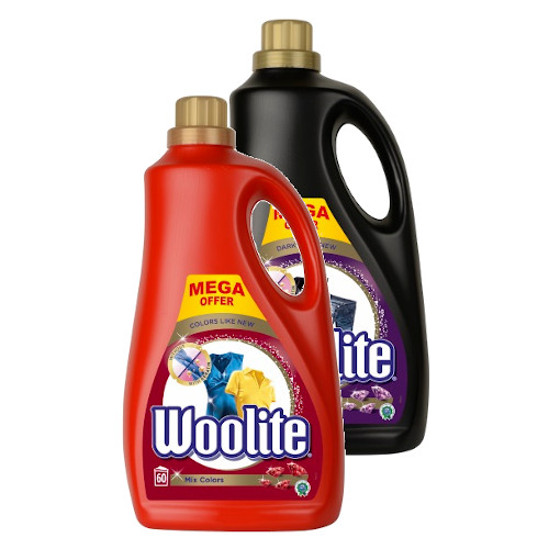 Woolite Dark + Color Жидкость для Стирки 2x3,6l