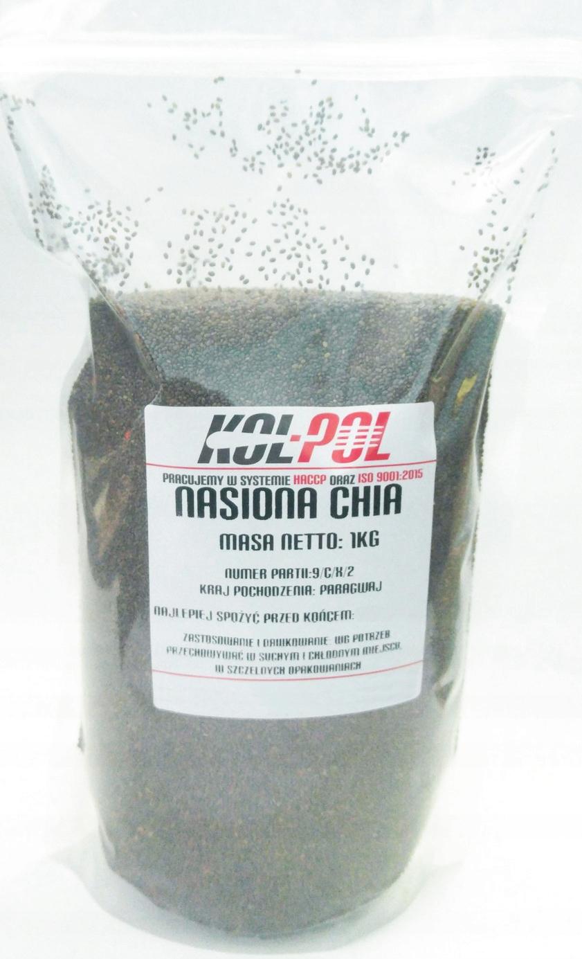 Chia semená (Salvia Hispanica 5 kg-VYSOKÁ KVALITA
