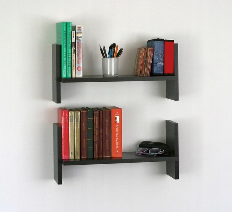 простые полки для книг на стену фото домов пеноблоков