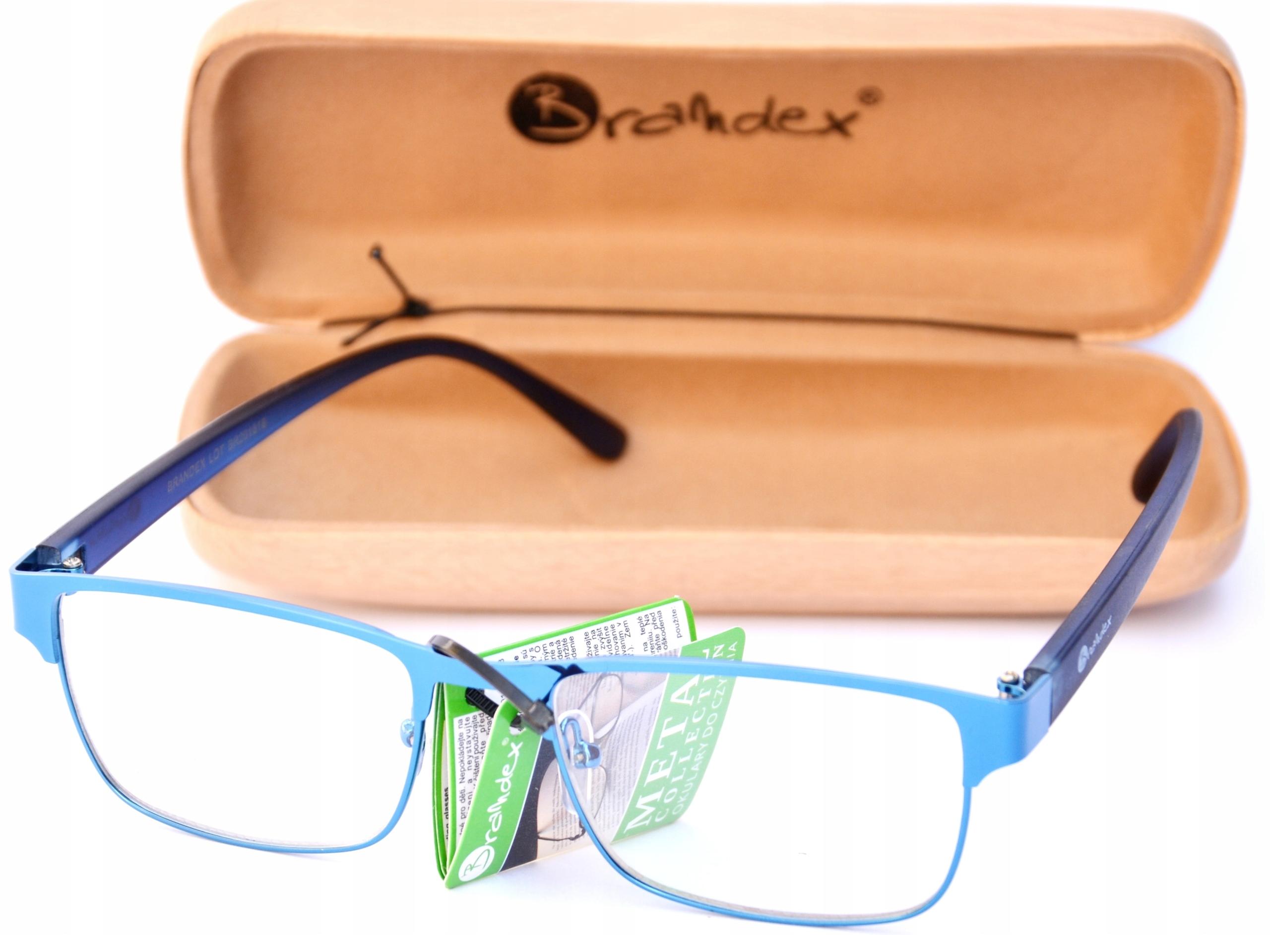 Okulary 1 5 Do Czytania Komputera Meskie Zestaw 8409067847