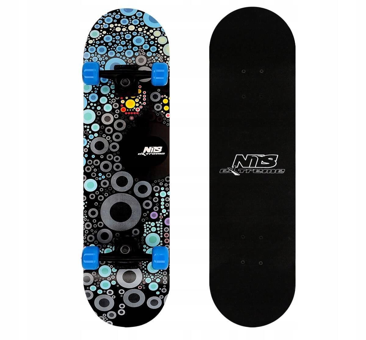 Klasický skateboard NILS Wood 9 vrstiev MAPLE