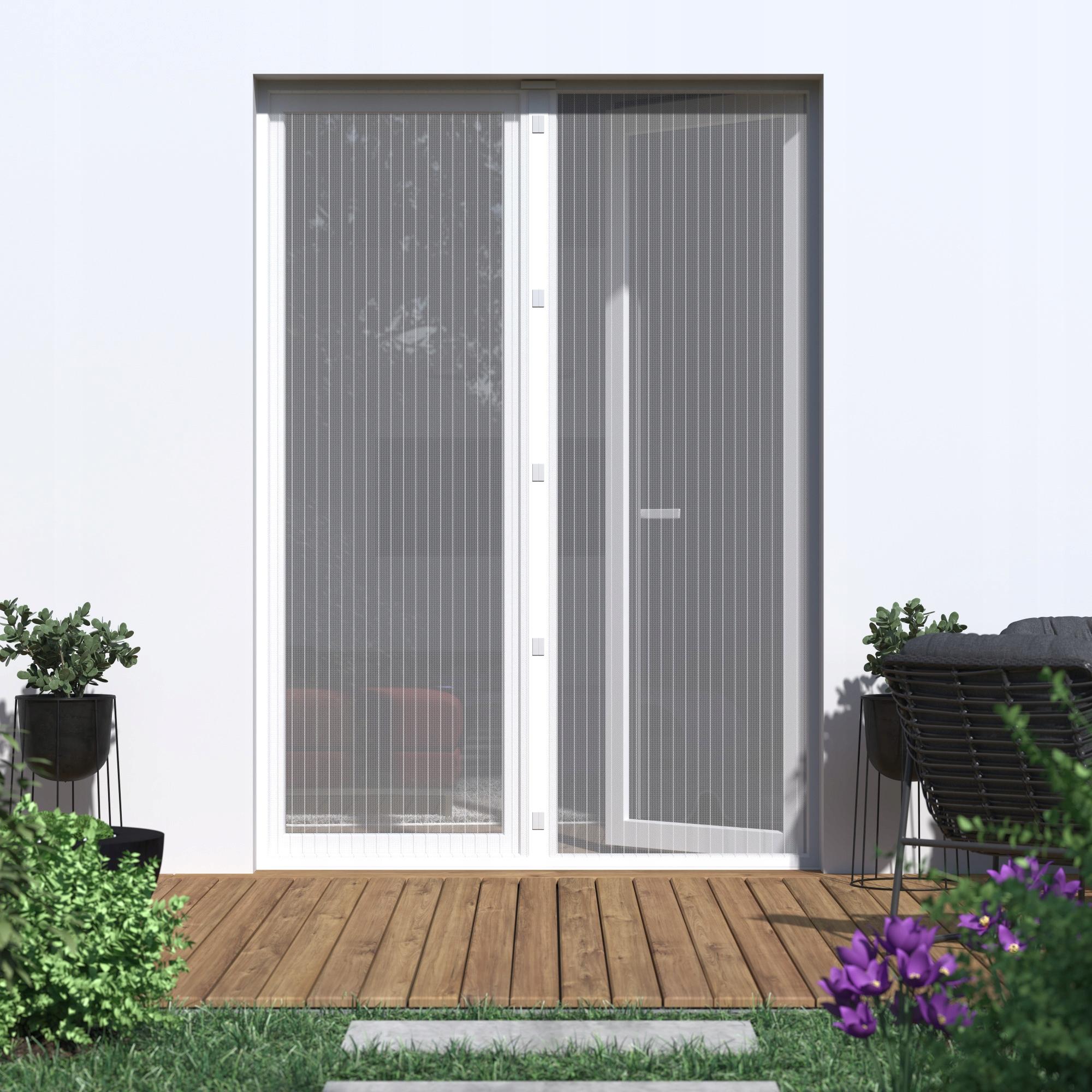 Magnetyczna Moskitiera Na Drzwi Drzwiowa 160x230cm