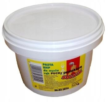 PASTA DO MYCIA RĄK BHP SOLVIK VAN z PUMEKSEM 0,5kg