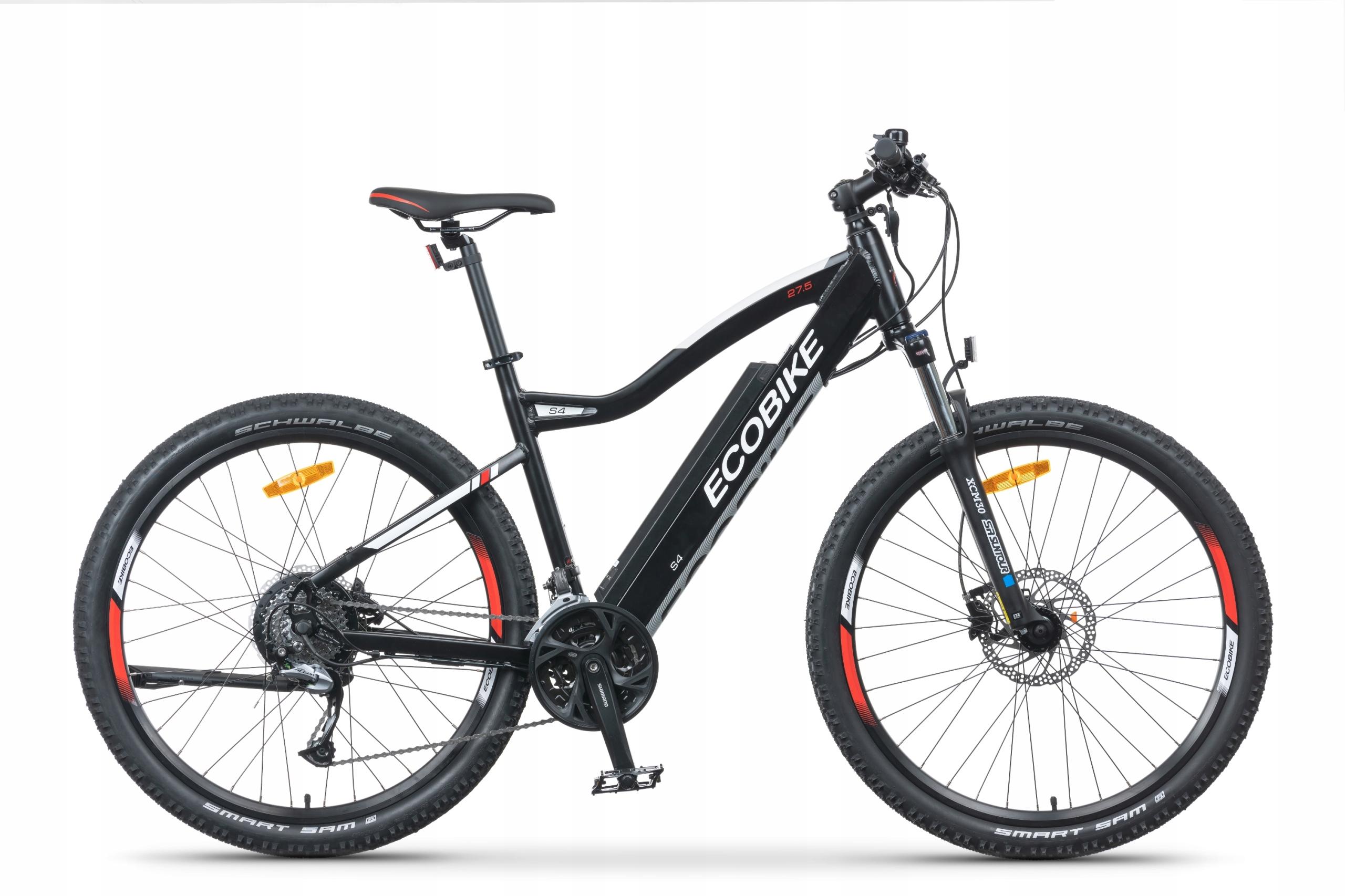 велосипед электрический ECOBIKE S4 для 35 kmh 540W 10,4Ah