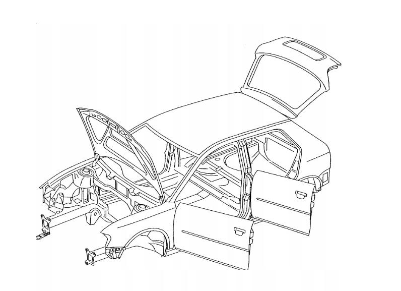 AUDI Q7 A6 C6 2004-11 STEROWNIK DRZWI