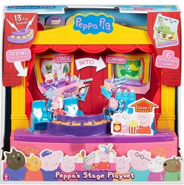 TM Toys Theatre Stage Peppa Pig PEP06964
