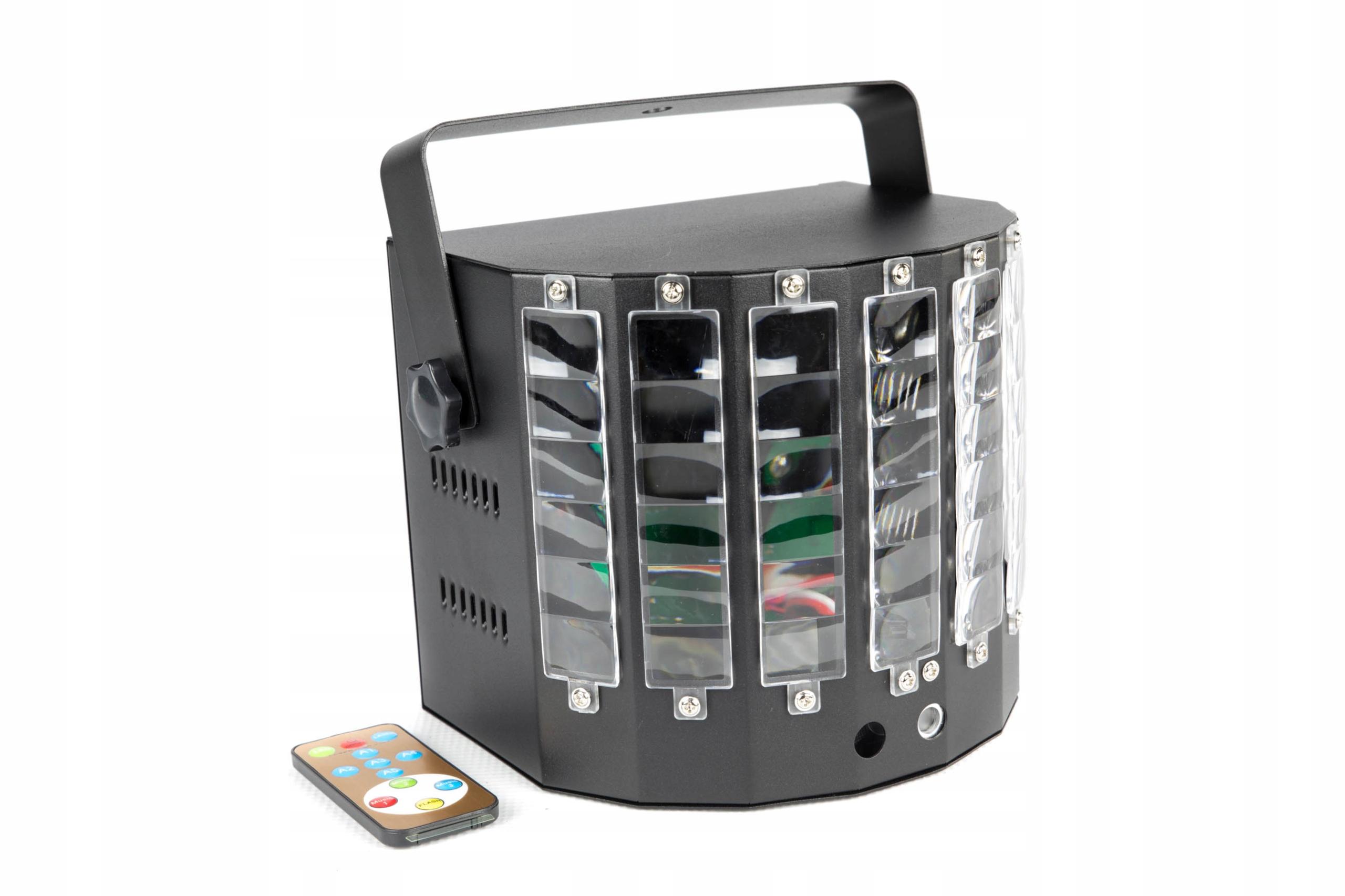 Item COLORSTAGE EFFECT LED DERBY LASER TURBO V2 RGBWAP