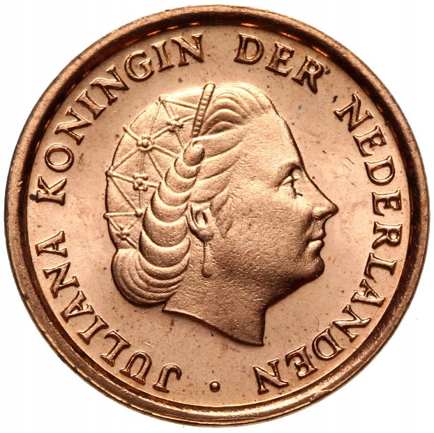 Holandsko - mince - 1 cent 1980 - MENNICZA - UNC