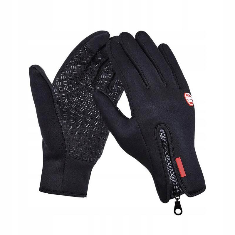 Велосипедные перчатки WATERPROOF WARM TOUCH. XL