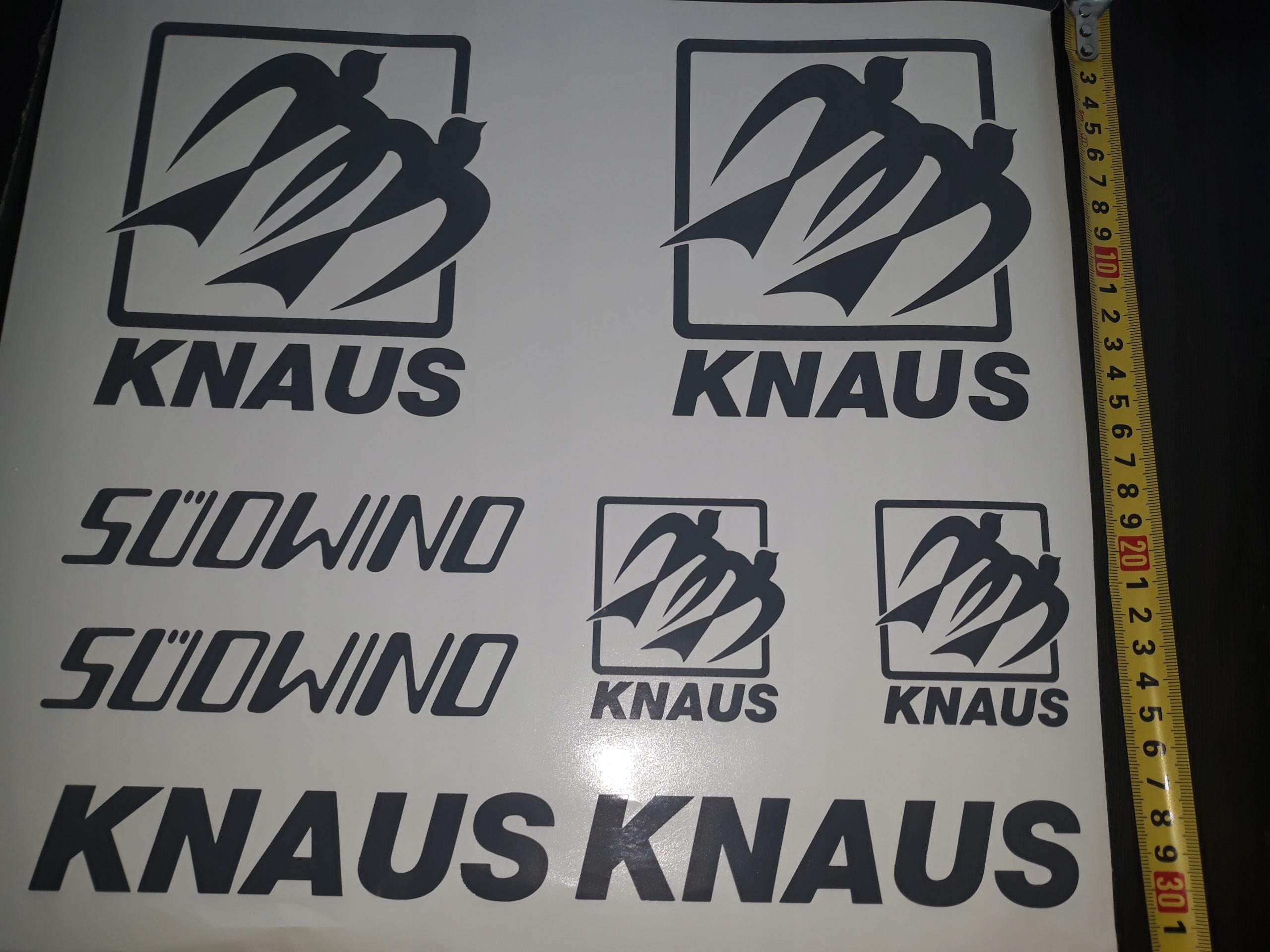 Набор стикеров KNAUS SUDOWIND Trailer Stickers
