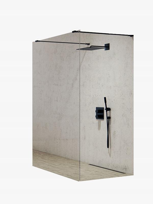 NOVÝ bezbariérový sprchovací kút MODUS BLACK 110 cm