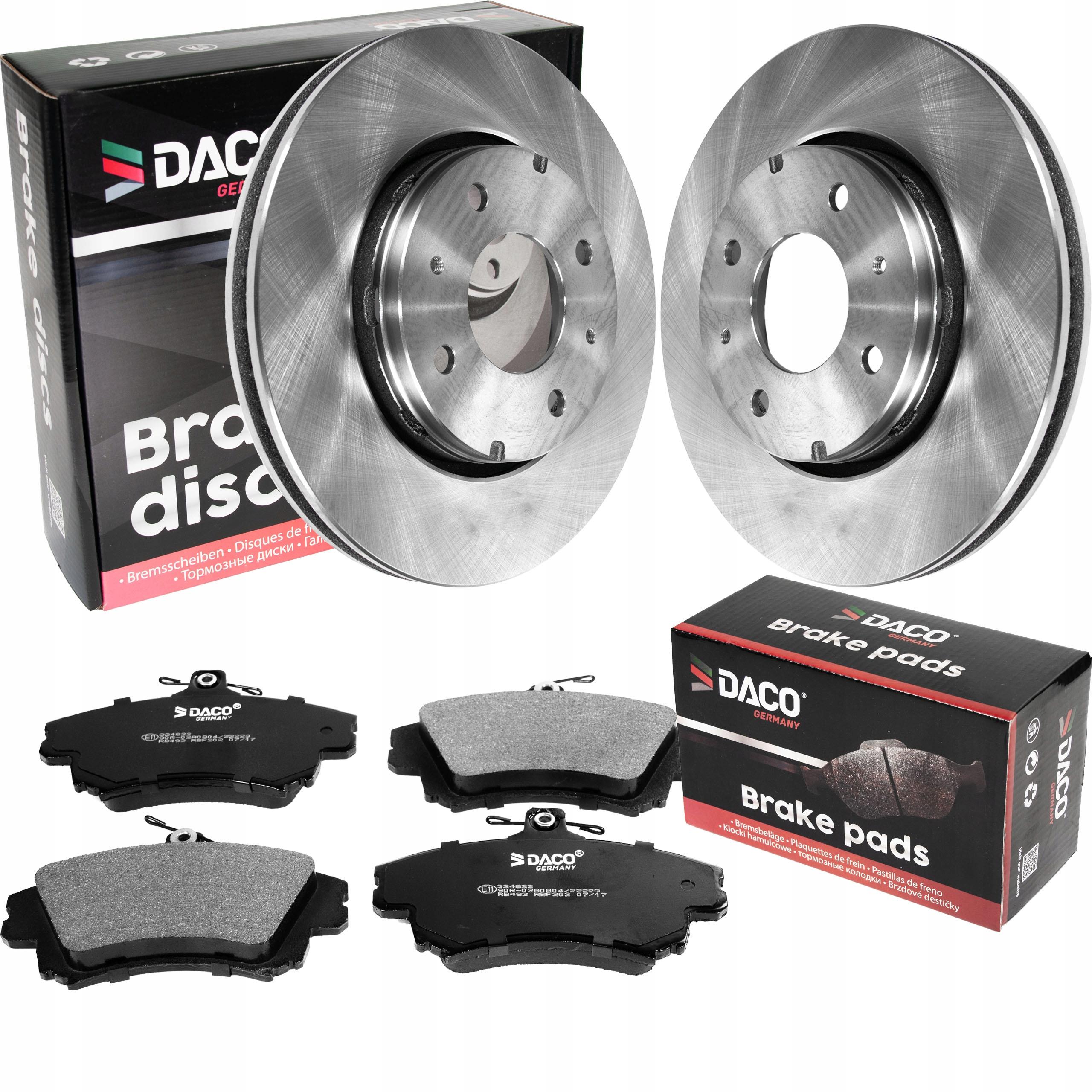 Тормозные диски DACO Front VOLVO S40 V40