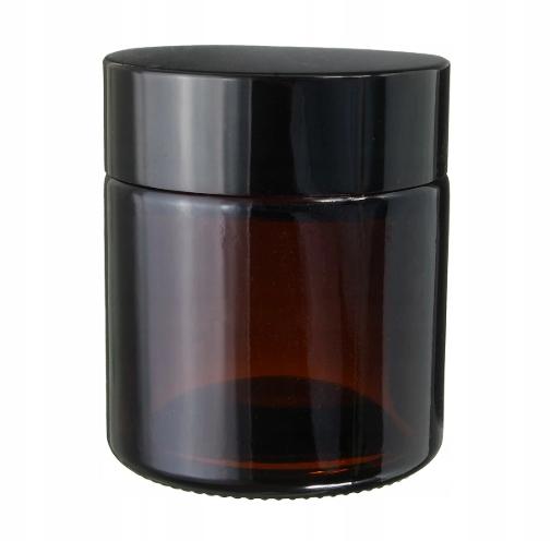Джар банку стеклянный коричневый аптека 120мл