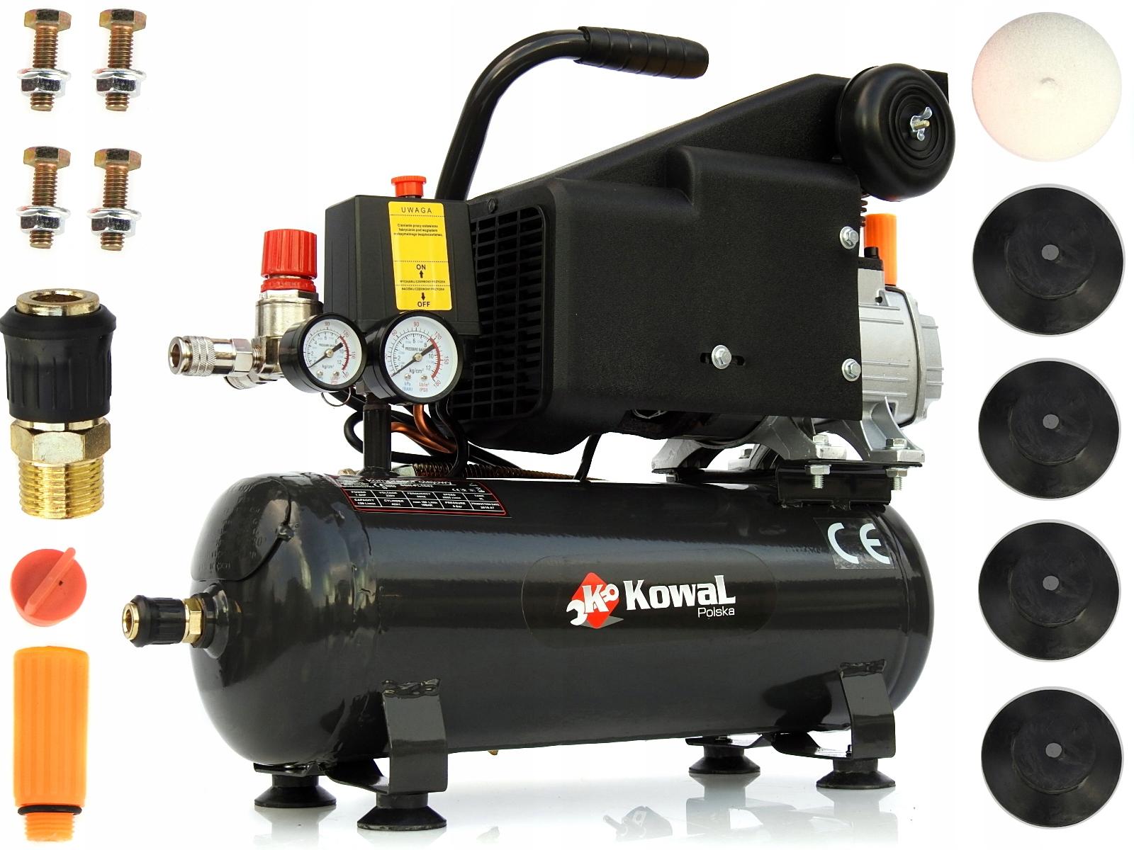 KOMPRESOR FL 9L olejowy sprężarka powietrza KOWAL