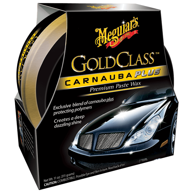 MEGUIAR'S Gold Class Carnauba Plus Wax Paste Wosk