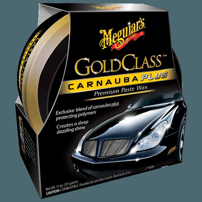MEGUIAR'S Gold Class Carnauba Plus Wax Paste Wosk