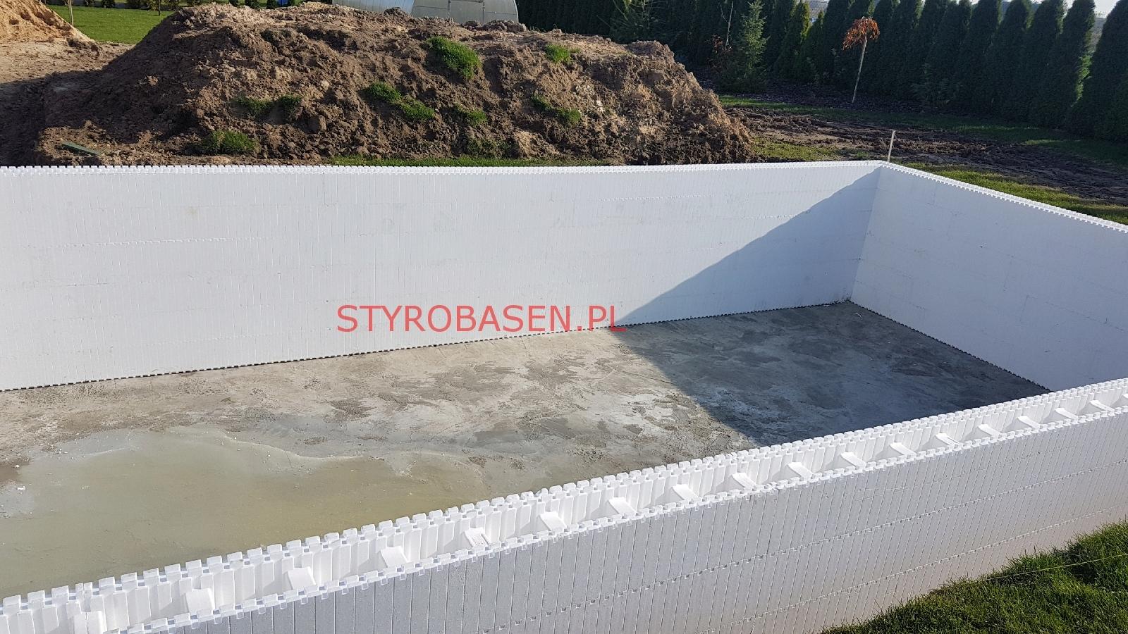 Zaktualizowano Basen z bloczków, bloczki basenowe styropianowe 7138462275 WL33