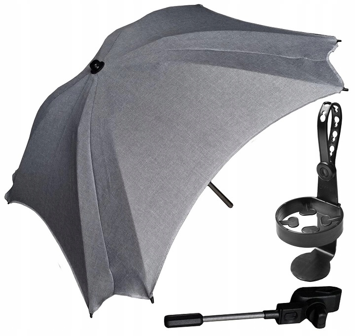 Item HEATHER (LEN)-SQUARE UMBRELLAS +CUP HOLDER