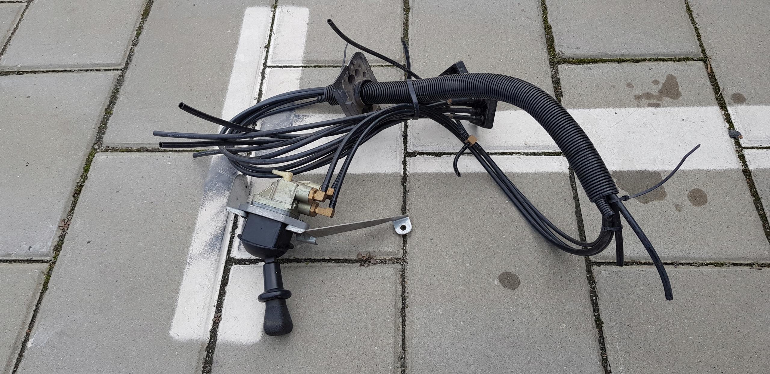 daf xf 105 рычаг тормоза ручной