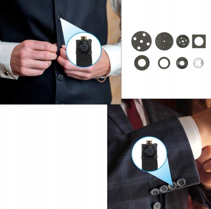 Mini kamera WiFi szpiegowska ukryta FullHD ANDROID Informacje dodatkowe Wi-Fi złącze mikrofonowe