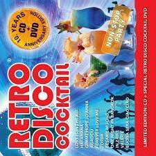 RETRO DISCO KOKTAIL 10 ROKOV OBMEDZENÉ CD DVD MIX