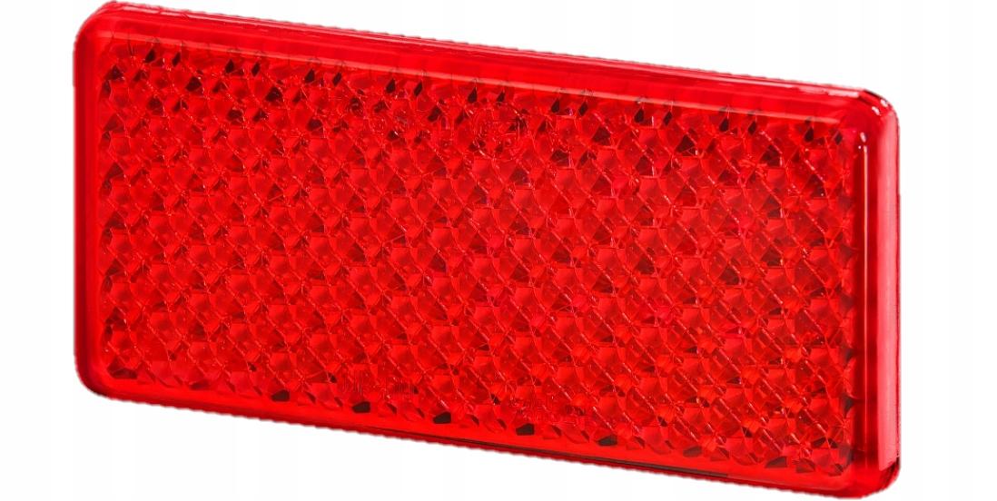 отблеск прямоугольный на ленту красный up60ts 10szt