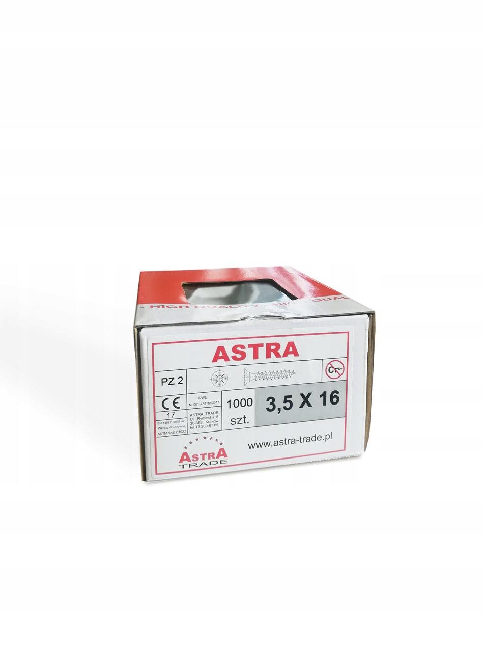 винты ??? дерева Astra 3 ,5x16 100 штук
