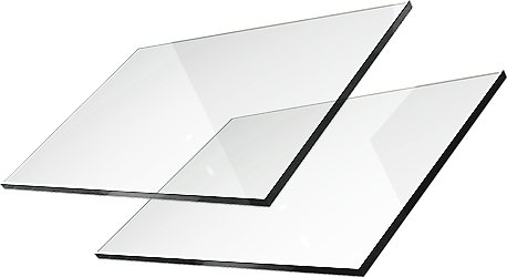 Стекло для камина стекло SAMOCZYSZCZĄCA под размер